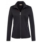 Kate Kasin Women's Stand Collar Casual Lightweight Zip-up Jacket Tops Coat