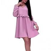Casual Dresses for Women,V-Neck Retro Solid Color Ballet Mini Shirt Dress