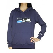 Pink Victoria's Secret Womens SEATTLE SEAHAWKS Athletic Hoodie