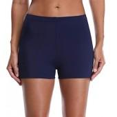 Anwell Women's Swim Bottom Board Swim Shorts Tummy Control Tankini Boyleg Bottom