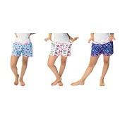 3 Pack of Women's Sleepwear Pajama Short