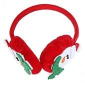 Christmas Santa Clause Faux Fur Plush Earmuffs Keep Warm Earmuffs Winter Warm Fluffy Earwarmers Foldable