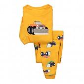 Dreamaxhp Truck Sleepwear Little Boys Cotton Pajama Set T Shirt & Pant