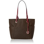 Michael Kors Women's Jet Set Travel Small Logo Tote Bag