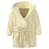 Ameyda Unisex Childrens Flannel Bathrobes Hoodie