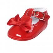 BENHERO Baby Girls Soft Sole Bowknot Mary Jane Princess Shoes (Infant)