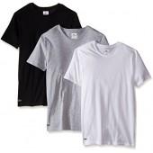 Lacoste Men's Essentials Cotton Crew-Neck T-Shirt (Pack Of 3)