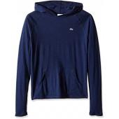 Lacoste Little Boys Long Sleeve Jersey Hooded T-Shirt
