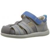 See Kai Run Kids' Ryan II Gray/Blue Sandal