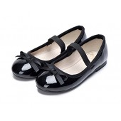 Alicorn Girl's Casual Slip On Bowknot Mary Jane Flat Shoes