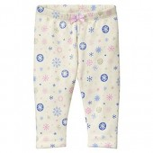 Gymboree Baby Girl Cozy Fleece Snowflake Legging