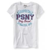 Aeropostale Girls Glitter Psny Athletic Div. Embellished T-Shirt