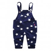 Sooxiwood Little Boys Overall Star Pocket