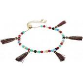 rebecca minkoff morocco tassel anklet