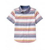 Gymboree Big Boys' Stripe Woven Top
