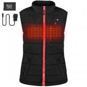 OUTCOOL Women's Slim Fit Heating Winter Vest Lightweight Insulated Heated Waistcoat