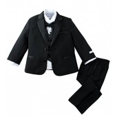 Spring Notion Baby Boys' Modern Fit Tuxedo Set, No Tail