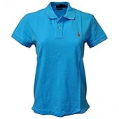Polo Ralph Lauren Women's Classic Fit Mesh Pony Shirt