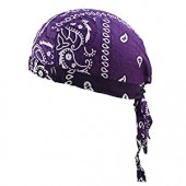 Cotton Skull Caps Sweat Wicking Beanie Cap Hat Chemo Cap Motorcycle Head Wrap for Men and Women
