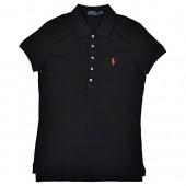 Polo Ralph Lauren Womens Classic Fit Mesh 5 Button Polo Shirt