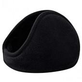 Unisex Winter Warm Rear Wear Plush Earmuffs Earwarmers Easy-taking Lightweight Solid Earlap