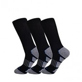 JOYNÉE Men's 3/6 Pack Athletic Cushion Crew Socks Performance Running Socks