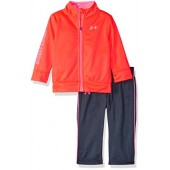 Under Armour Girls' Zip up Jacket and Pant Set