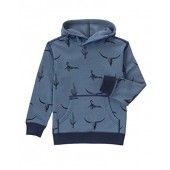 Gymboree Boys' Big Bluebulls Skull Hoodie