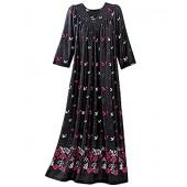 National Long Polyester Slip-on Dress