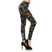 Leggings Depot Women's Fall/Winter Ultra Soft Popular Best Printed Fashion Leggings BAT1