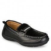 Chillipop Loafers for Boys & Toddlers  Faux Leather, Lace-Up Moccasin Shoe