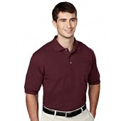 Tri-Mountain 106 pique pocketed golf shirt