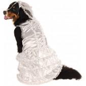 Rubie's Big Dog Bride Costume White