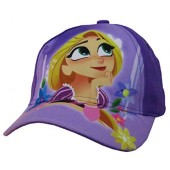 Disney Tangled the Series Rapunzel Girls' Purple Baseball Cap - Size 4-14 [6014]