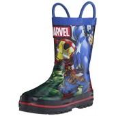 Disney 1AVS502 Avengers Rain Boot (Toddler/Little Kid)