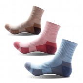 3 Pairs Women Girls Running Hiking Socks - Outdoor Sports Walking, US Size 5-9