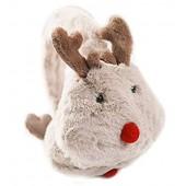 Women's Cartoon Elk Muff Soft Plush Warm Winter Ear Muff