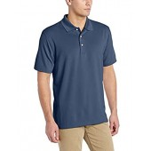 Cubavera Men's Essential Textured Performance Polo Shirt