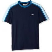 Lacoste Men's Short Sleeve Made in France Tech Pique Regular Fit T-Shirt, TH3266