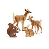 Schleich North America Forest Animal Babies Set