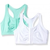 Fruit of the Loom Women's Front Close Racerback (Pack Of 2)