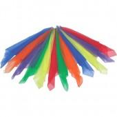 Rhythm Band Large Multi-Color Rhythm Scarves (Pack of 12)