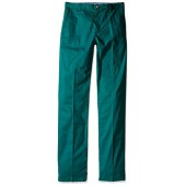 Lacoste Boys' Big Boys' Cotton Gabardine Flat Front Chino