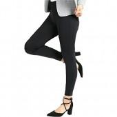 Bamans Yoga Dress Pants, High Waisted Black Workout Leggings For Women, Office Skinny Lined Leggings, Strechy