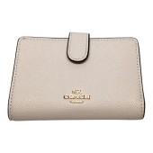Coach Crossgrain Leather Medium Corner Zip Wallet F11484