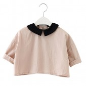 XUNYU Baby Girls Cotton Long Sleeve T Shirt Blouse Tops Bottom Tee Infant Toddler