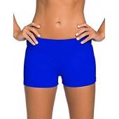 VintageRose Womens Wide Waistband Swimsuit Bottom Shorts