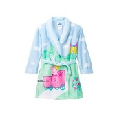 Peppa Pig Girls Bathrobe for Toddler Plush Size 3T 4T 5