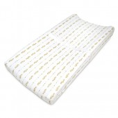 American Baby Company Knit Fitted Contoured Changing Table Pad Cover