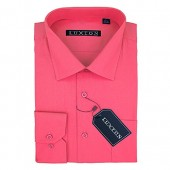 Luxton Men's Regular Fit Long Sleeve Cotton Poly Dress Shirt  Available in More Colors